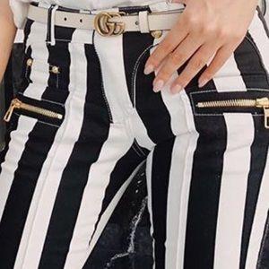 Balmain H&M Biker Jeans USA 2 & 4